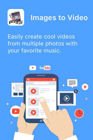 Images to Video - cool video maker & photo editor screenshots 1