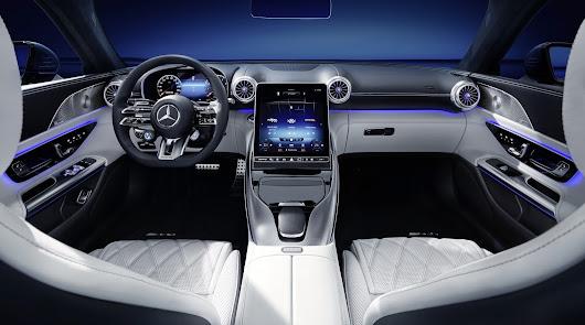 Grupo Saveres nos muestra como será el interior del nuevo Mercedes-AMG SL