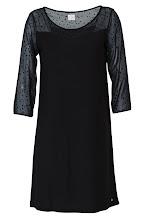 Photo: Robe noire bi-matière DES PETITS HAUTS - Mode BE