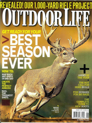 FREE Outdoor Life Magazine Sub...