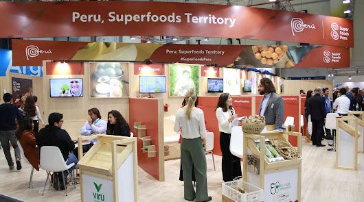 Perú cierra negocios en la feria líder del sector frutas y hortalizas