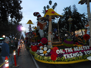 "Photo: Pasadena Rose Parade 2013  Kaiser Float  ""Cat in the Hat"""