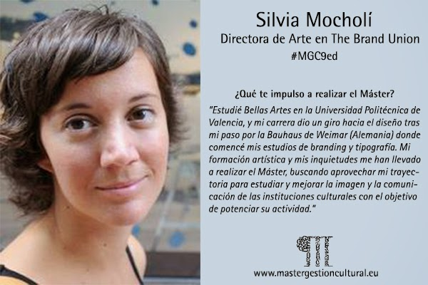 Photo: Silvia Mocholí, Directora de arte en The Brand Union, #MGC9ed