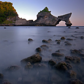 Atuh Beach , Nusa Penida , Bali , Indonesia. by M Reza Saptodi - Landscapes Beaches