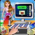 Super Market Cashier Game icon
