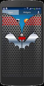 Metal Bat Zip Screen Lock screenshot 5