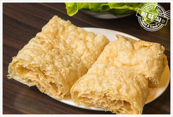 名家汕頭沙茶火鍋菜單豆皮