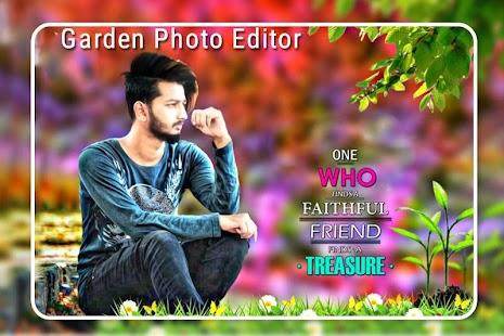 Garden Photo Editor : Garden Photo Frame - náhled