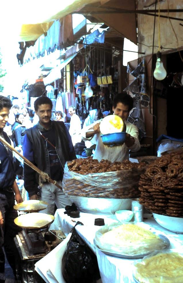 Mercado de Féz.- Marruecos