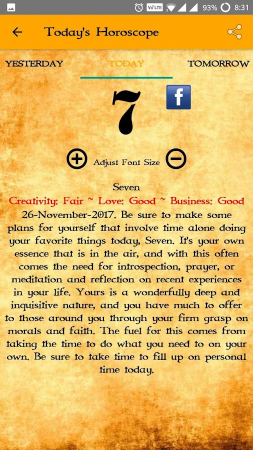 Horoscope and Astrology 2018- screenshot