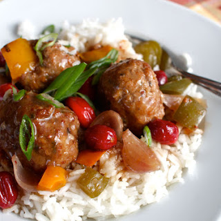 Slow Cooker Turkey Meatballs in Sweet and Sour Sauce