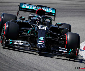 Lewis Hamilton blijft in polepositie, Ferrari kent weer pech