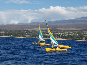 Photo: Dan & Jude Sailing off South Maui