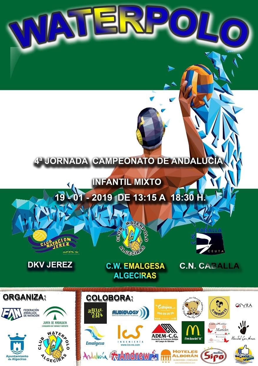 El invicto Waterpolo Algeciras juega en Sevilla