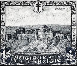"""Photo: """"Les châteaux"""" (1-12-1930). Bouillon."""