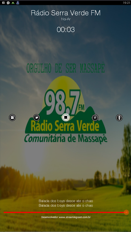 Radio Serra Verde FM- screenshot