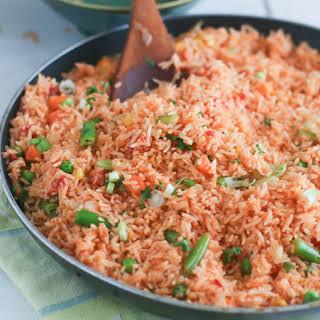 Jellof Rice(Oven Baked).