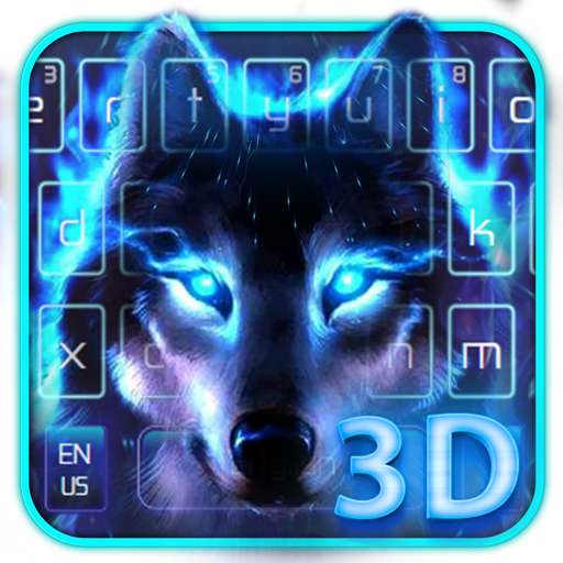 Howling Wolf Live 3D Keyboard Android APK Download Free By IThemeMaster