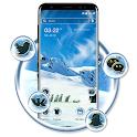 Ice Penguin Launcher Theme icon