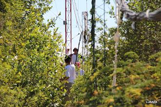 Photo: Noah K2NG trabajando en la nueva antena para 80 metros