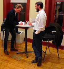 Photo: Signing books with +Ryan Nicodemusin DC last week.