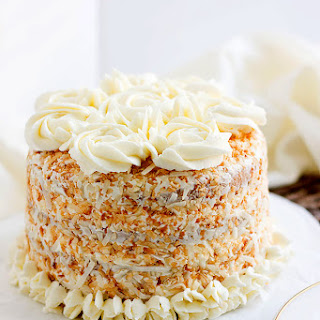 Coconut Cake with Buttercream Frosting Recipe