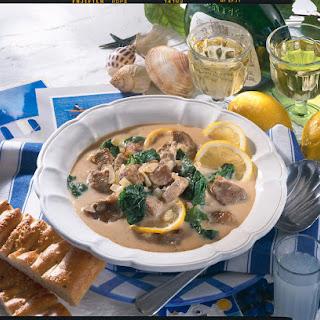 Mediterranean Lemon Lamb Stew