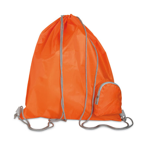 Promotional Drawstring Sports Backpack - Red