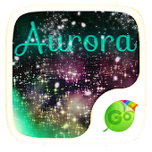 Aurora GO Keyboard Theme