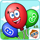 Balloon Pop And Learn - Numbers, Letters, Animals Android APK Download Free By Toddler Hero - Learning Games For Baby And Kids