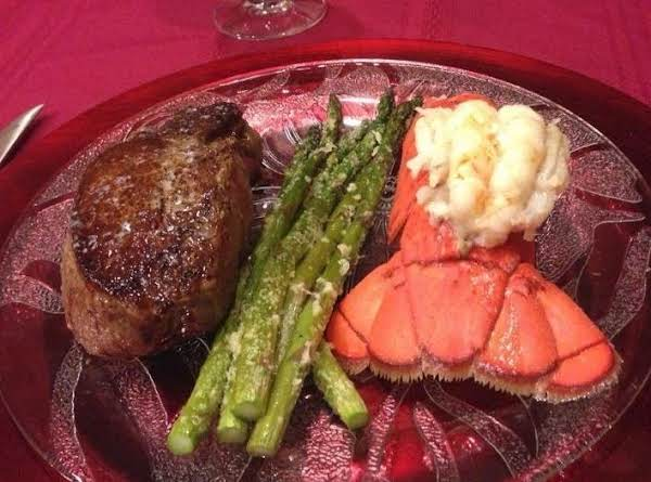 Happy Valentine's Day! I Served My Parmesan Roasted Asparagus With Filet Mignon & Lobster For Valentine's Dinner! It's Such An Elegant Veggie To Serve. I Hope You Enjoy It As Much As We Do!
