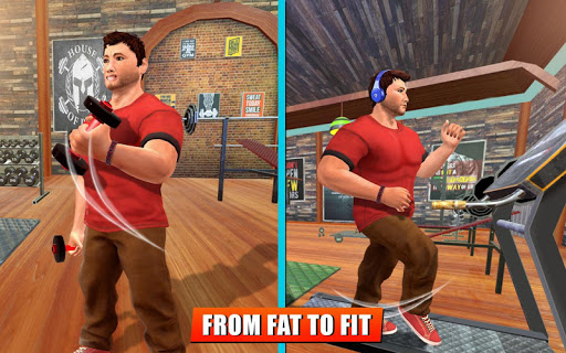 Fatboy Gym Workout: Fitness & Bodybuilding Games filehippodl screenshot 7