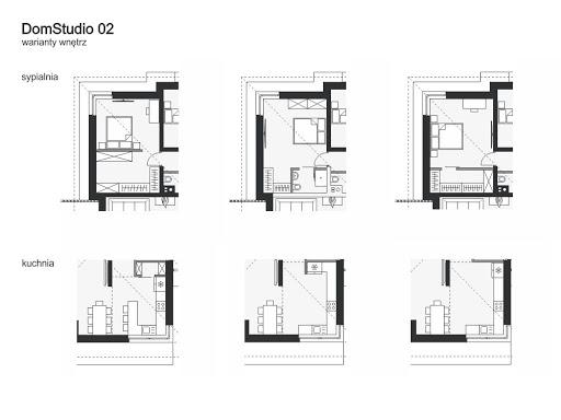 DomStudio 02 - Warianty wnętrz
