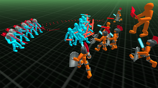 Stickman Simulator: Battle of Warriors 1.12 screenshots 2
