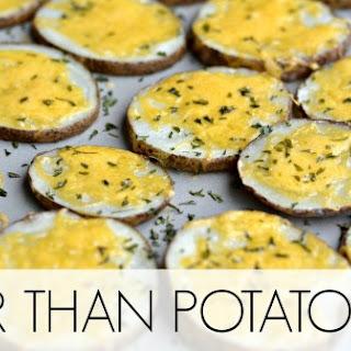 """Cheesy Potato """"Chips"""""""