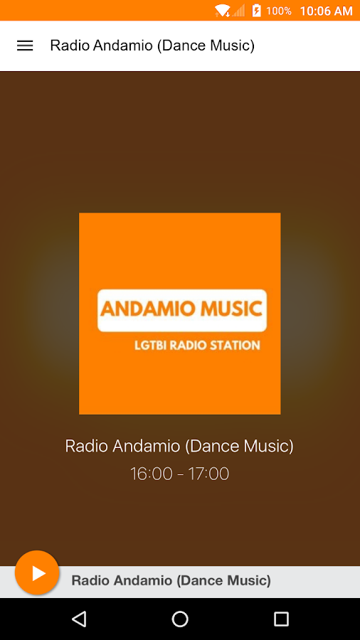 Radio Andamio (Dance Music)- screenshot