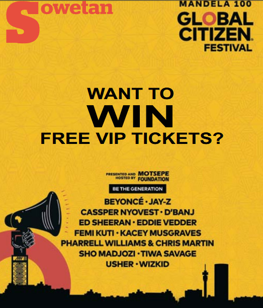Global Citizen Festival | Want to win free VIP tickets?