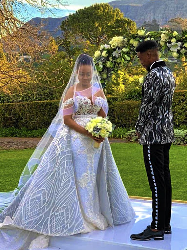 Star-studded nuptials for Dineo Moeketsi and rapper 'Solo' Langa