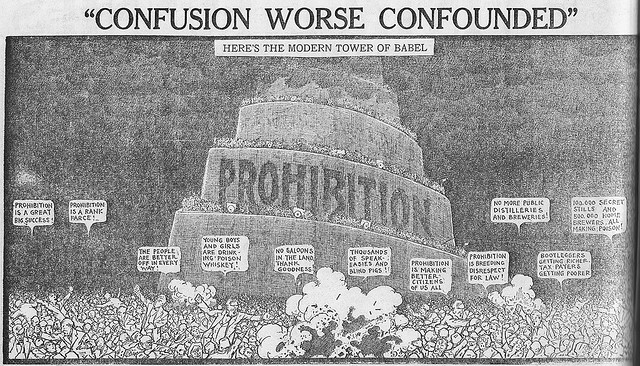 an analysis of prohibition in the 1920 Michigan did not embrace prohibition all at once  when national prohibition  took effect in 1920, michigan became a battleground state in.