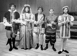 Photo: April 1991: Colossal Baroque concert with the combined CMA and EME ensembles; here, the crumhorns.
