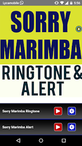 Sorry Marimba Ringtone screenshot 0