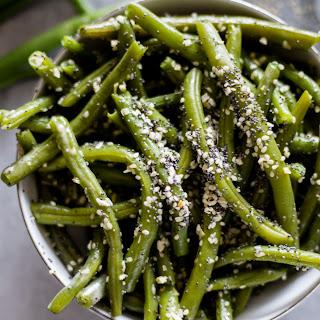 Everything Bagel Green Beans