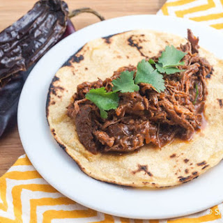 Slow Cooker Beef Adobado.