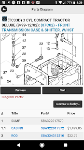 Equipment Parts Diagrams by Messick's - náhled