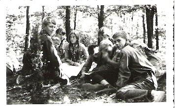 Photo: Obóz w Rudach k/Puław - sierpień 1964r.