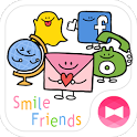 Simple Theme Smile Friends icon