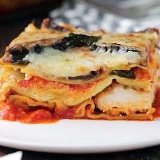 Chicken & Eggplant Parm Lasagna.