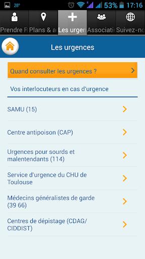 CHU de Toulouse screenshot 4