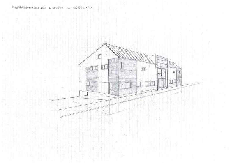 Vijf appartementen en één studio te Kessel-Lo