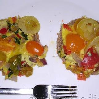 Sophie's End Of Summer Breakfast Omelette.